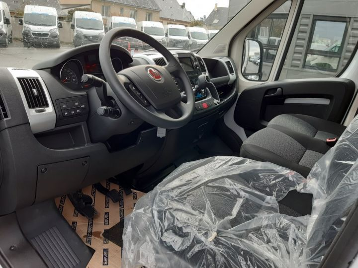 Chassis + carrosserie Fiat Ducato Benne arrière 3.5 Maxi L 2.3 Multijet 140CH Benne JPM + Coffre Pack Pro Nav BLANC - 7