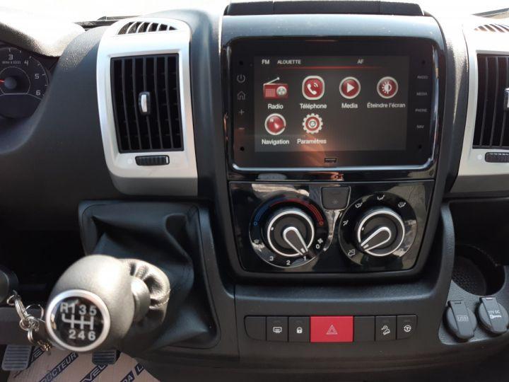 Chassis + carrosserie Fiat Ducato Benne arrière 3.5 Maxi L 2.3 Multijet 160CH Benne JPM + Coffre PRO LOUNGE BLANC - 10