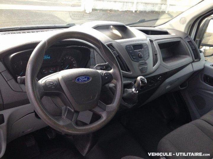 Chassis + carrosserie Ford Transit Benne arrière custom benne alu 155ch clim blanc - 7