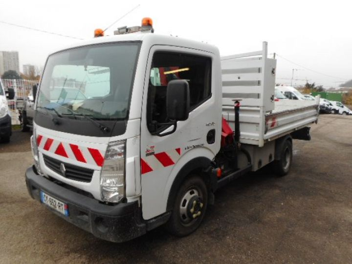 Chassis + carrosserie Renault Maxity Benne + grue 140 DXI  Occasion - 2