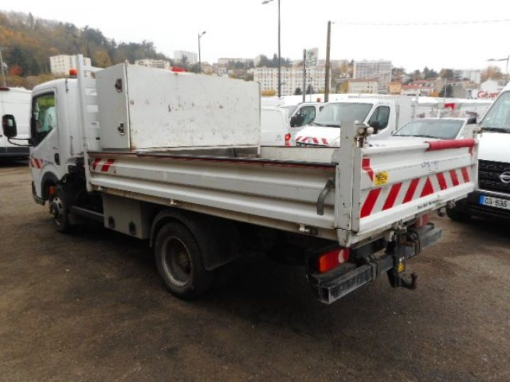 Chassis + carrosserie Renault Maxity Benne + grue 140 DXI  Occasion - 3