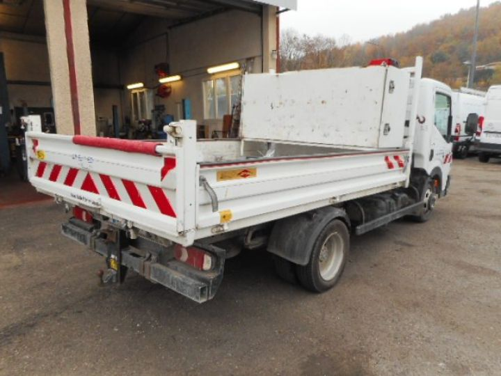 Chassis + carrosserie Renault Maxity Benne + grue 140 DXI  Occasion - 4