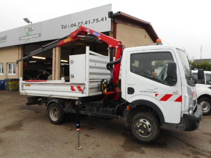 Chassis + carrosserie Renault Maxity Benne + grue 140 DXI  Occasion - 6