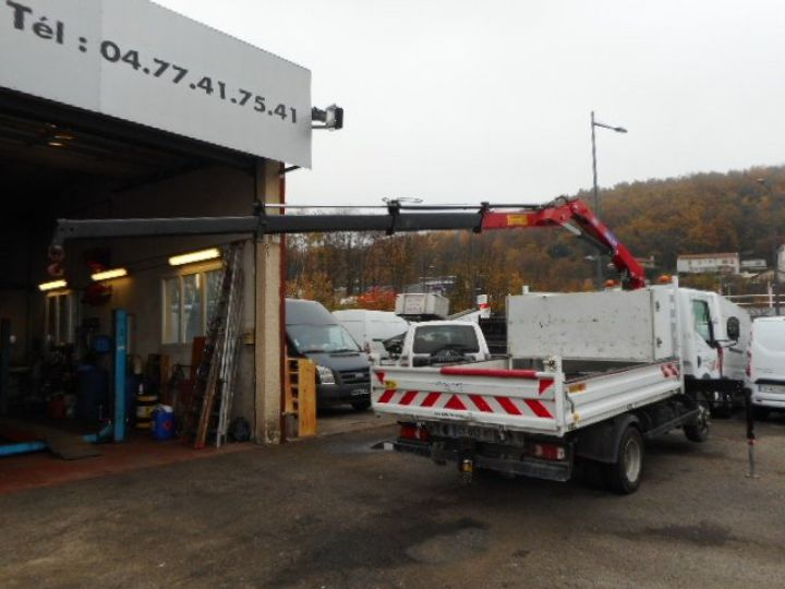 Chassis + carrosserie Renault Maxity Benne + grue 140 DXI  Occasion - 7