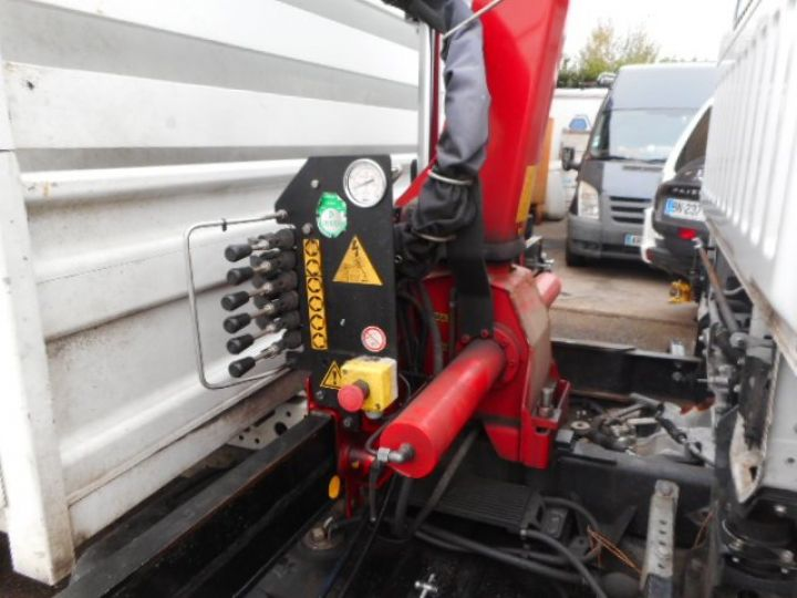 Chassis + carrosserie Renault Maxity Benne + grue 140 DXI  Occasion - 8