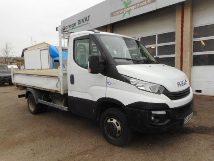 Chassis + carrosserie Iveco CF75 Benne arrière 35C14 BENNE  - 1