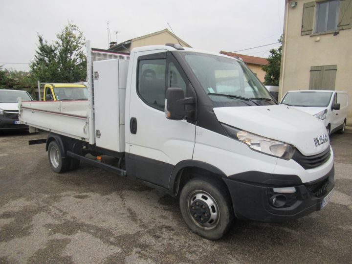 Chassis + carrosserie Iveco Daily Benne arrière 35C14 BENNE + COFFRE  - 1