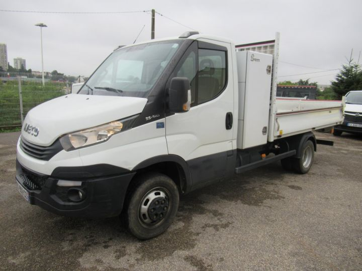 Chassis + carrosserie Iveco Daily Benne arrière 35C14 BENNE + COFFRE  - 2