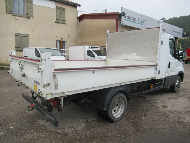 Chassis + carrosserie Iveco Daily Benne arrière 35C14 BENNE + COFFRE  - 4