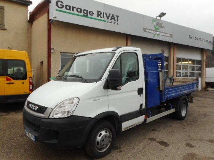 Chassis + carrosserie Iveco Daily Benne arrière 35C15 BENNE + COFFRE  Occasion - 1