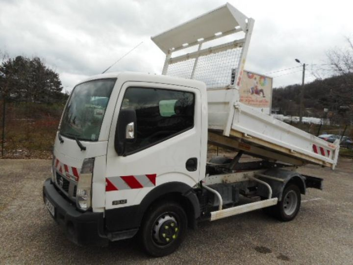 Chassis + carrosserie Nissan Cabstar Benne arrière 35.12 BENNE NT400  Occasion - 5
