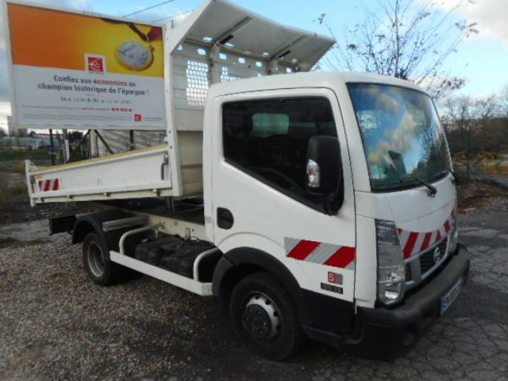 Chassis + carrosserie Nissan Cabstar Benne arrière NT400 35.13 BENNE  Occasion - 5