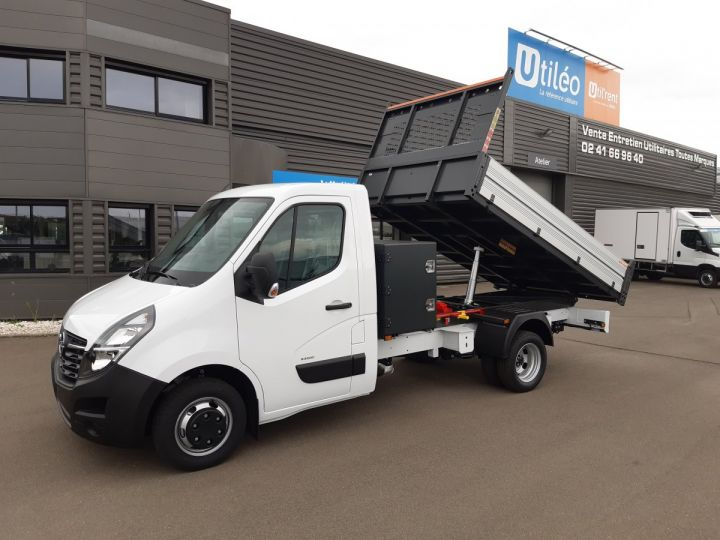 Chassis + carrosserie Opel Movano Benne arrière 3.5 RJ 2.3 CDTI 145CV BLANC - 1