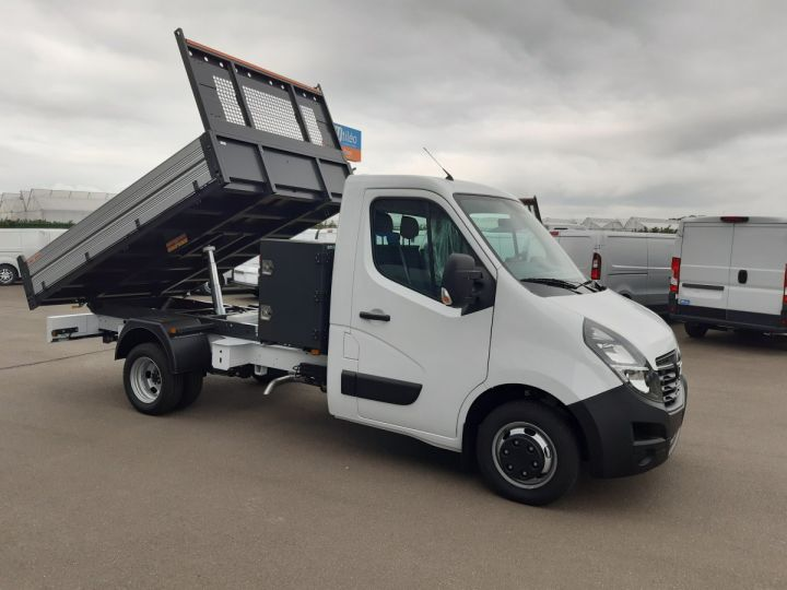Chassis + carrosserie Opel Movano Benne arrière 3.5 RJ 2.3 CDTI 145CV BLANC - 2