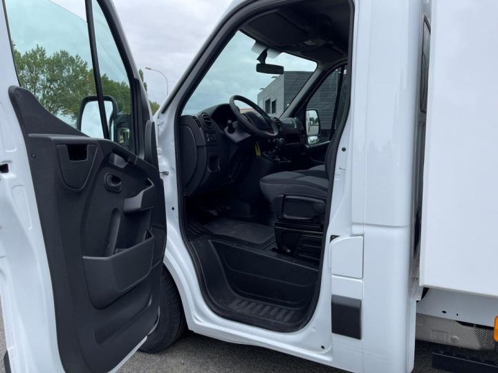 Chassis + carrosserie Renault Master Benne arrière 130CV BENNE PAYSAGISTE COFFRE CROCHET BLANC - 7