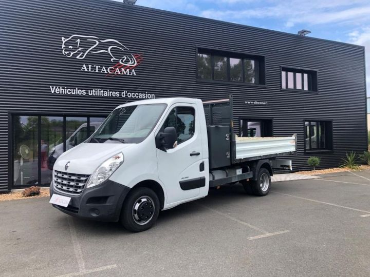 Chassis + carrosserie Renault Master Benne arrière 150CV ROUES JUMELEES BENNE COFFRE BLANC - 2