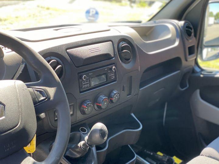 Chassis + carrosserie Renault Master Benne arrière 165 CV BENNE PAYSAGISTE COFFRE CROCHET BLANC - 5