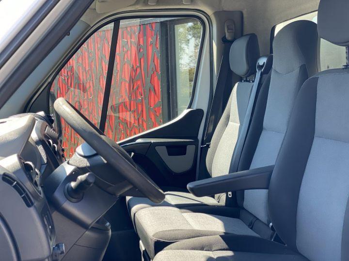Chassis + carrosserie Renault Master Benne arrière 165 CV BENNE PAYSAGISTE COFFRE CROCHET BLANC - 8