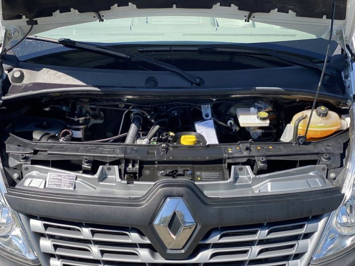 Chassis + carrosserie Renault Master Benne arrière 165 CV BENNE PAYSAGISTE COFFRE CROCHET BLANC - 10