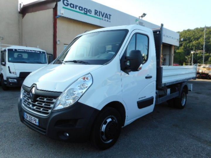 Chassis + carrosserie Renault Master Benne arrière BENNE DCI 135  Occasion - 1