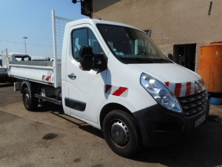 Chassis + carrosserie Renault Master Benne arrière DCI 125  Occasion - 1