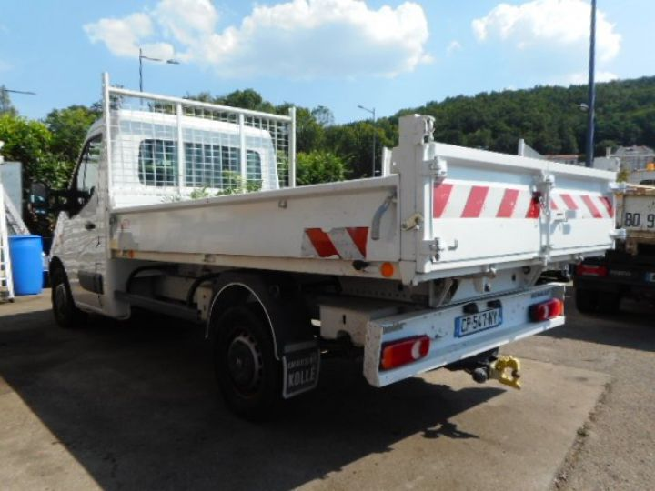Chassis + carrosserie Renault Master Benne arrière DCI 125  Occasion - 3