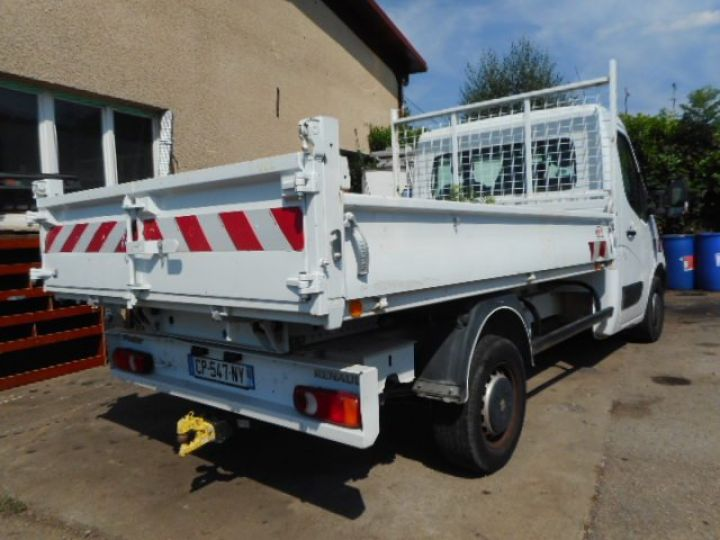 Chassis + carrosserie Renault Master Benne arrière DCI 125  Occasion - 4