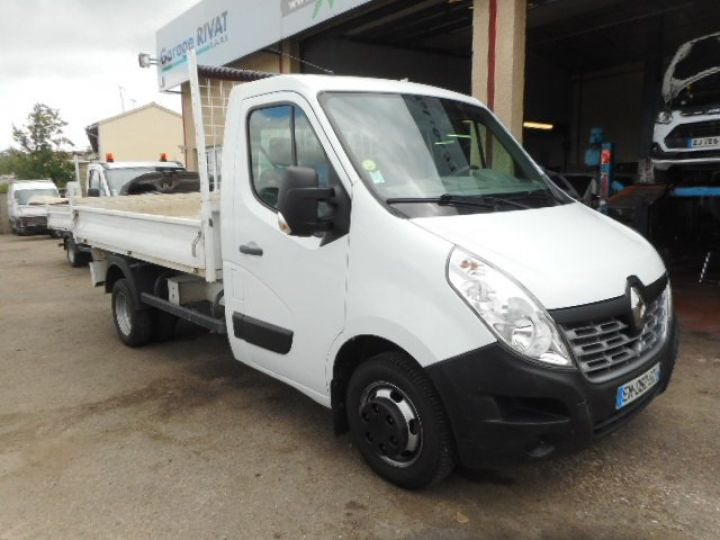 Chassis + carrosserie Renault Master Benne arrière DCI 130 BENNE  Occasion - 1