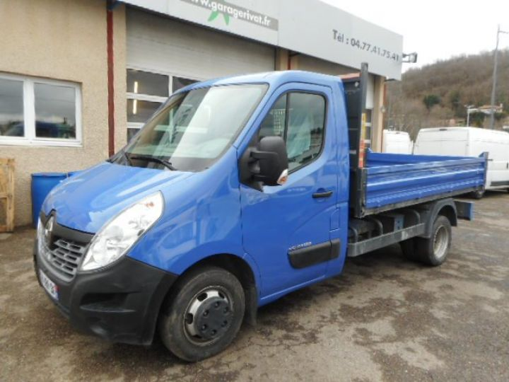 Chassis + carrosserie Renault Master Benne arrière DCI 145  Occasion - 1