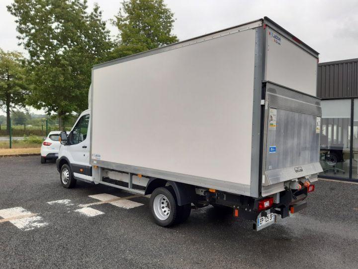 Chassis + carrosserie Ford Transit Caisse fourgon + Hayon élévateur TREND 130CV BLANC - 4