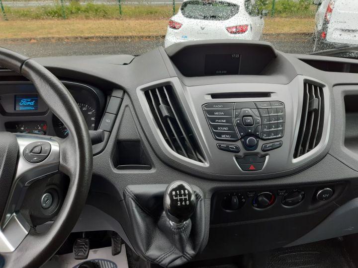 Chassis + carrosserie Ford Transit Caisse fourgon + Hayon élévateur TREND 130CV BLANC - 7