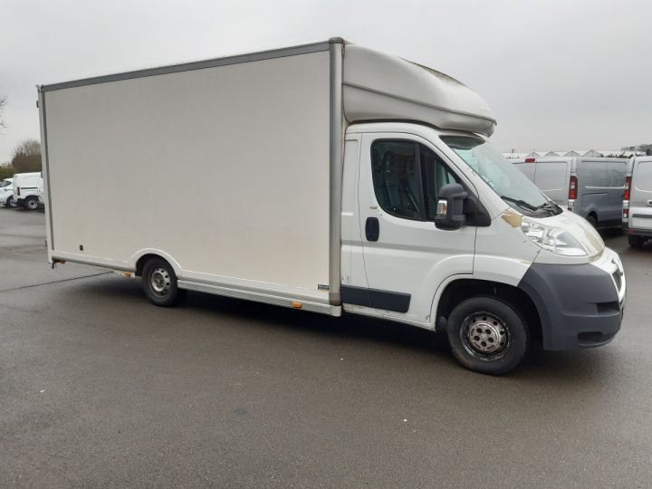 Chassis + carrosserie Peugeot Boxer Caisse Fourgon PLANCHER CABINE 335 L3 HDI150CV BLANC - 2