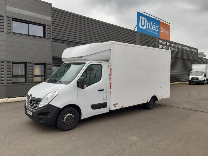 Chassis + carrosserie Renault Master Caisse Fourgon PLANCHER CABINE 2.3 DCI 125CH GRAND CONFORT BLANC - 1