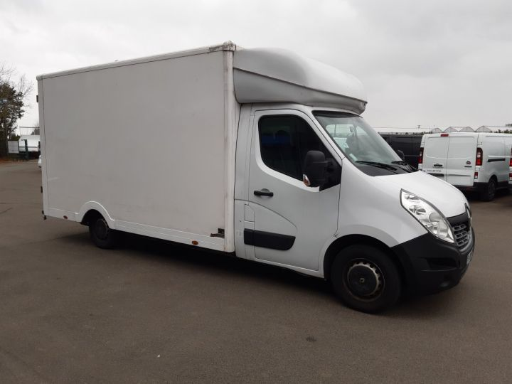 Chassis + carrosserie Renault Master Caisse Fourgon PLANCHER CABINE 2.3 DCI 125CH GRAND CONFORT BLANC - 2