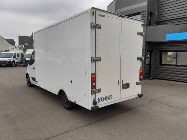 Chassis + carrosserie Renault Master Caisse Fourgon PLANCHER CABINE 2.3 DCI 125CH GRAND CONFORT BLANC - 4