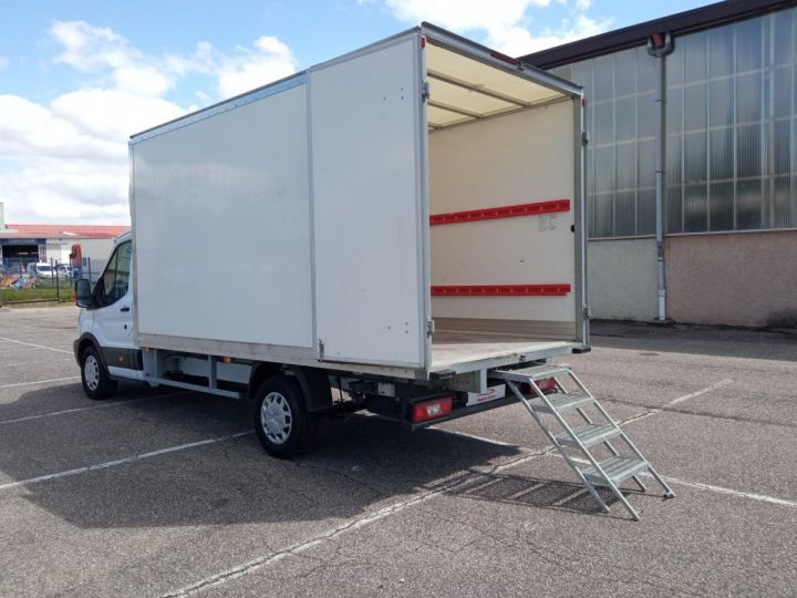 Chassis + carrosserie Ford Transit Chassis cabine CHASSIS CABINE T350 L4 2.0 TDCI 130 TREND Blanc - 4