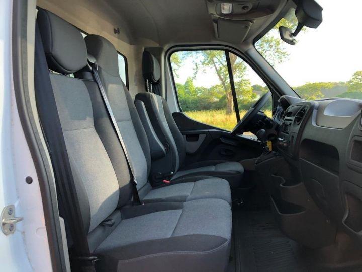 Chassis + carrosserie Renault Master Fourgon frigorifique 135 CV PENDERIE A VIANDE HAYON ELEVATEUR FRC X BLANC - 13