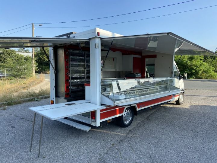 Chassis + carrosserie Renault Master Magasin - Vente detail DCI 120 MAGASIN BOUCHERIE ROTISSERIE  Occasion - 2