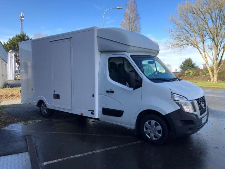 Chassis + carrosserie Nissan NV400 130CV FOURGON 22M3 PLANCHER CABINE PORTE LATERALE BLANC - 4