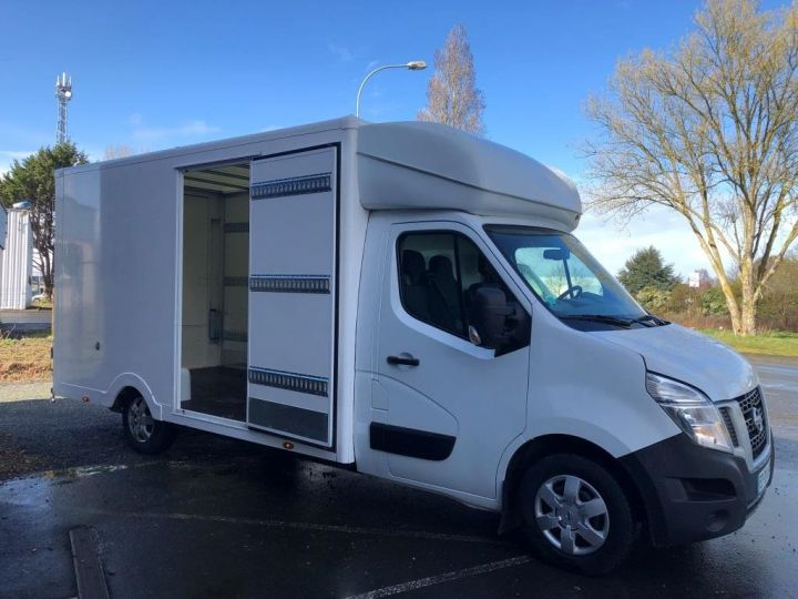 Chassis + carrosserie Nissan NV400 130CV FOURGON 22M3 PLANCHER CABINE PORTE LATERALE BLANC - 5