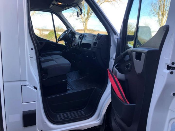 Chassis + carrosserie Nissan NV400 130CV FOURGON 22M3 PLANCHER CABINE PORTE LATERALE BLANC - 10