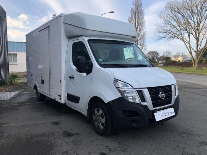 Chassis + carrosserie Nissan NV400 130CV FOURGON 22M3 PLANCHER CABINE PORTE LATERALE BLANC - 1