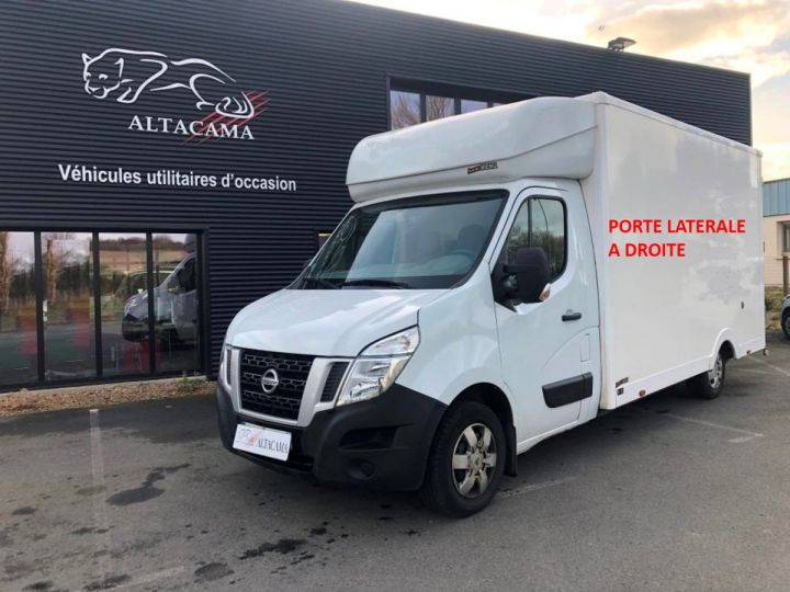 Chassis + carrosserie Nissan NV400 130CV FOURGON 22M3 PLANCHER CABINE PORTE LATERALE BLANC - 2