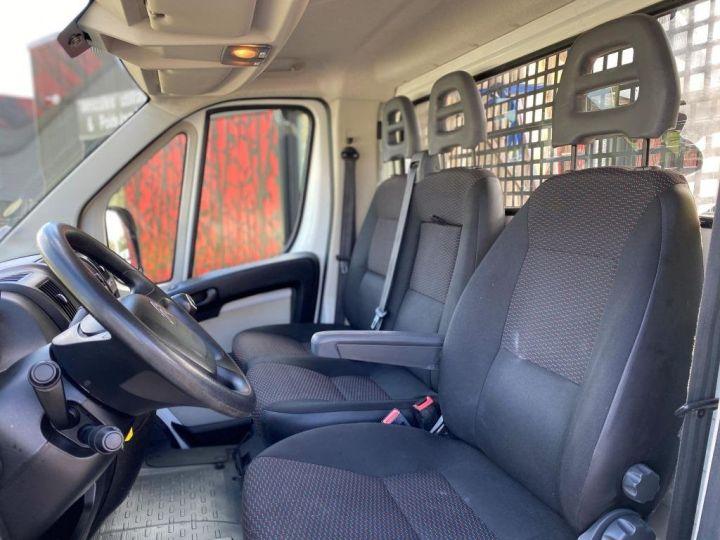 Chassis + carrosserie Citroen Jumper Plateau 130 BACHE COULISSANTE BLANC - 5