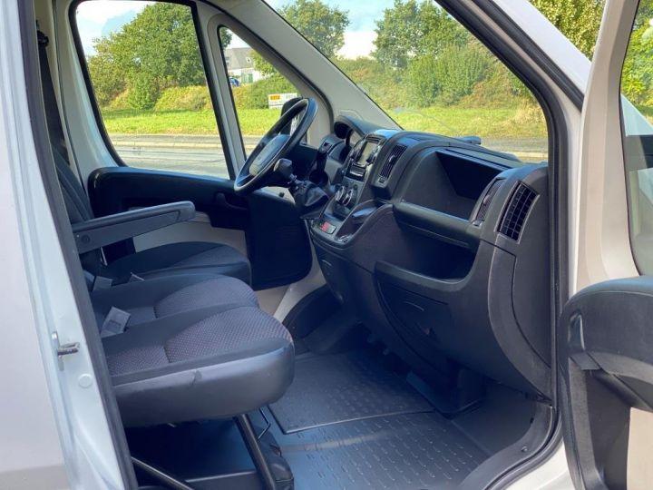 Chassis + carrosserie Citroen Jumper Plateau 130 BACHE COULISSANTE BLANC - 8