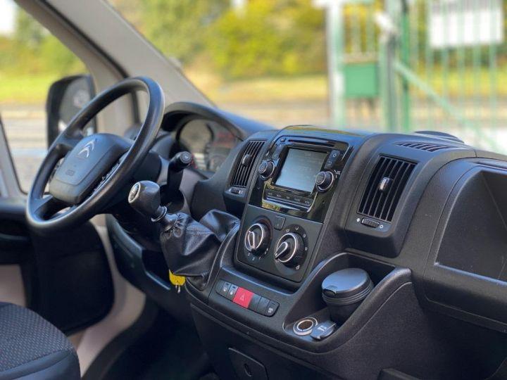 Chassis + carrosserie Citroen Jumper Plateau 130 BACHE COULISSANTE BLANC - 9