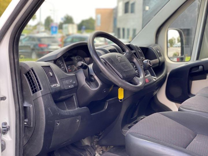 Chassis + carrosserie Citroen Jumper Plateau 130 DOUBLE CABINE  BLANC - 10
