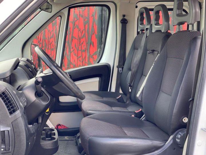 Chassis + carrosserie Citroen Jumper Plateau 130 DOUBLE CABINE  BLANC - 11