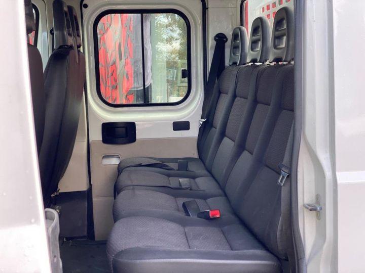Chassis + carrosserie Citroen Jumper Plateau 130 DOUBLE CABINE  BLANC - 12