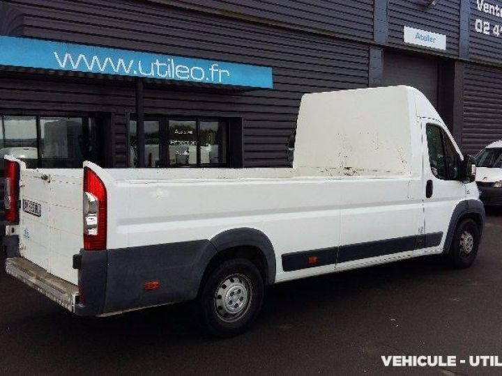 Chassis + carrosserie Fiat Ducato Plateau MAXI XL H2 2.3 MULTIJET 16V 120CH PACK CD CLIM  - 3